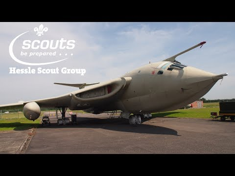 Hessle Scout Group Beavers Visit Yorkshire Air Museum