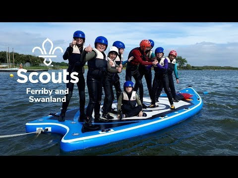 Ferriby & Swanland Scout Troop visit Welton Waters Adventure Centre