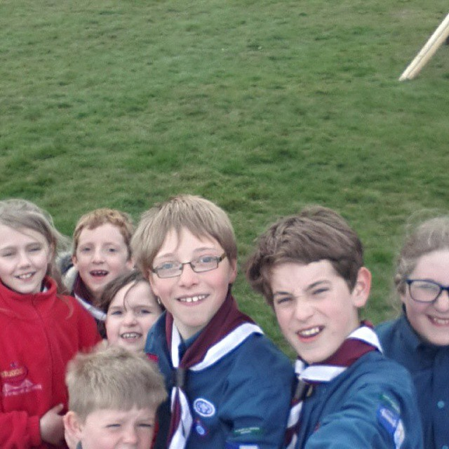 #selfie  #iscout  #stgeorgesday
