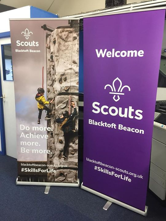 Another great job from Stu at HAD-Print for our new banners, using a photo from ...