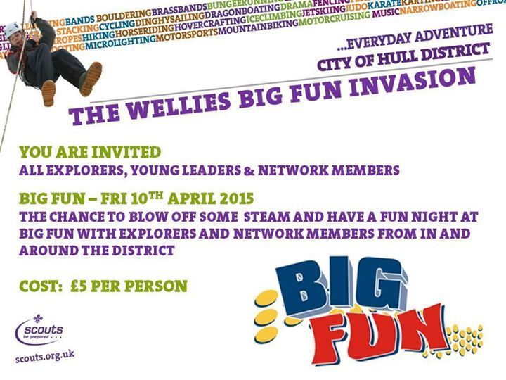 Any Network Members that are interested in attending The Big Fun Invasion are ve...