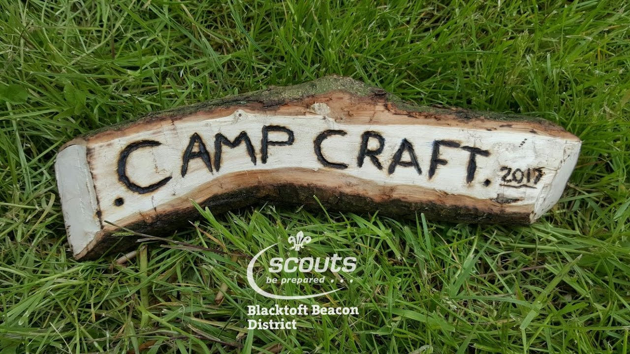 Blacktoft Beacon District Camp Craft Competition 2017