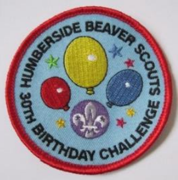 Challenge 30 - 2016 will be the 30th Anniversary of Beaver Scouting. The Humbers...