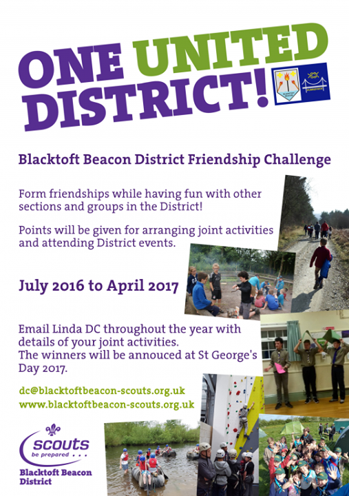 District Friendship Challenge 2017 - Entries are now open for the 2017 District ...