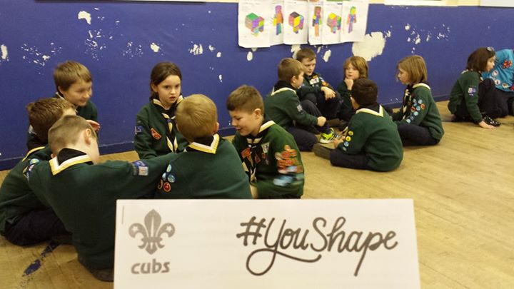 Great to see Cherokee Cubs getting involved in  #YouShape week! Don't forget if ...