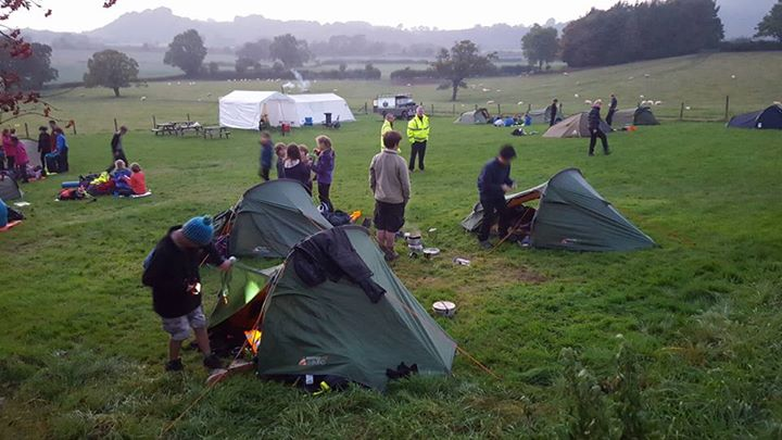 Great to see lots of happy faces!  #iscout  #everydayadventure  #teamworkOvernig...