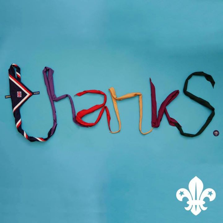 Happy Volunteer Recognition Day everyone!   Thank you for making Scouts what it ...