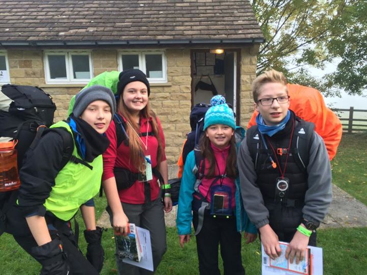 Photos from 1st Snaith Scout Group's postFells day one, the start
