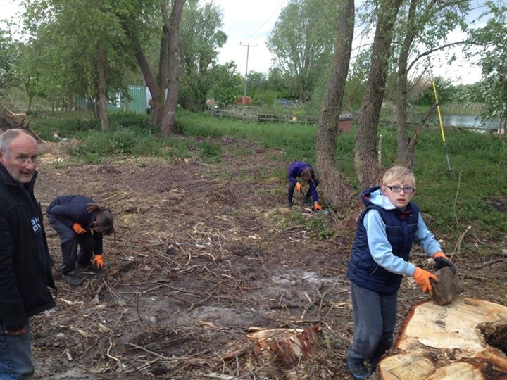 Photos from 1st Snaith Scout Group's postRawcilffe bridge scouts section helping...