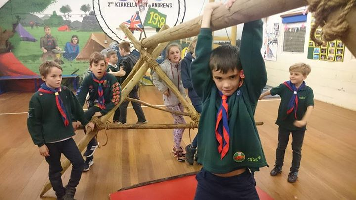 Photos from 2nd Kirk Ella Scout Group's postPioneering tonight and hanging cubs,...