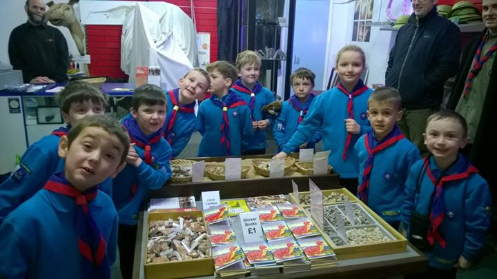 Photos from 2nd Kirk Ella Scout Group's postSKIDBY BEAVERS - DINOSTAR VISIT - 23...