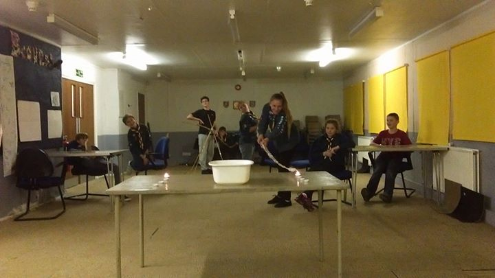 Photos from Gilberdyke Scouts's postCan Gilberdyke Scouts light 4 candles from a...