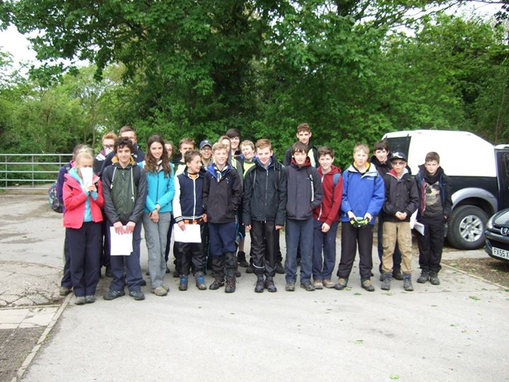 Photos from Hessle Scout Group's post...and they're off! The Scouts have now set...