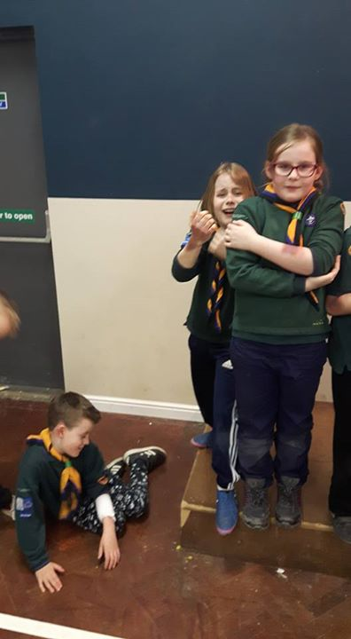 Photos from Willerby Scout group's postBig thanks to St John's ambulance tonight...