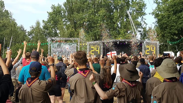 That's  #Gilwell24 over for another year! 4 buses of tired Blacktoft Beacon Expl...