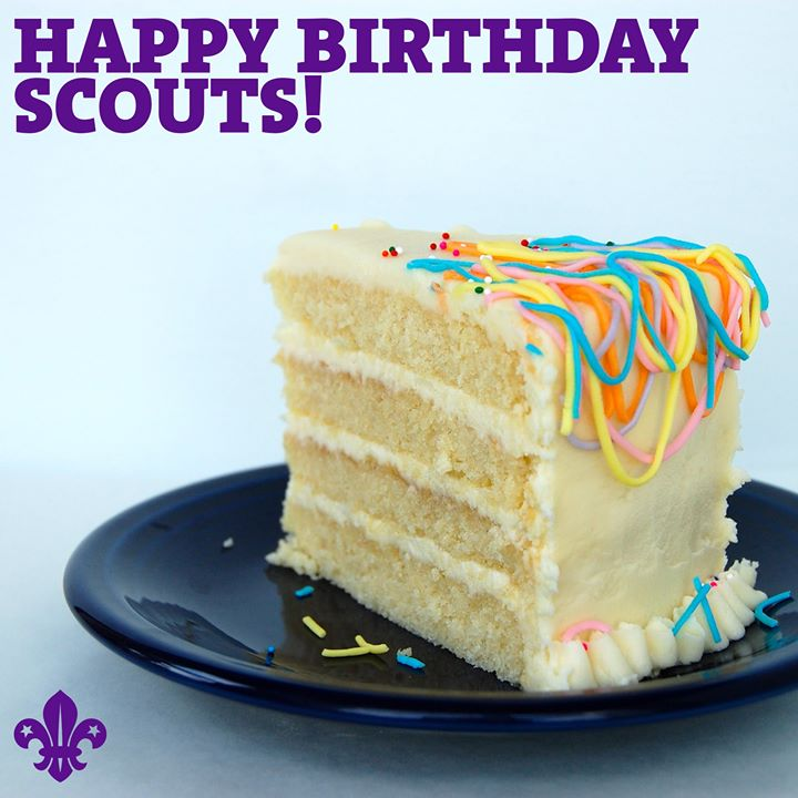 Today marks 109 years since the start of Baden-Powell's first experimental Scout...