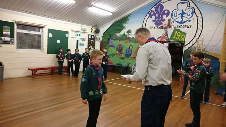 Well done for all your hard work towards your Silver Chief Scout Award!  #iscout...