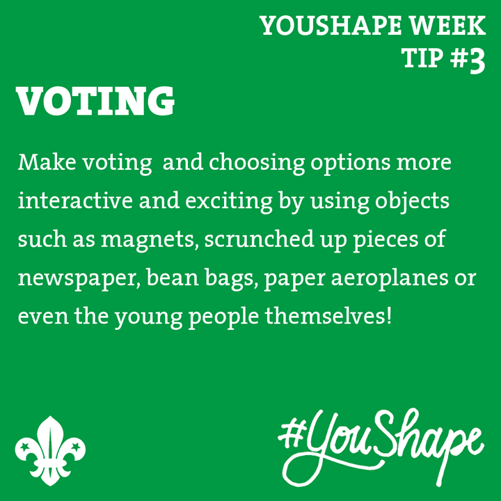 YouShape Week Tip  #3 -   -  -  #iScout