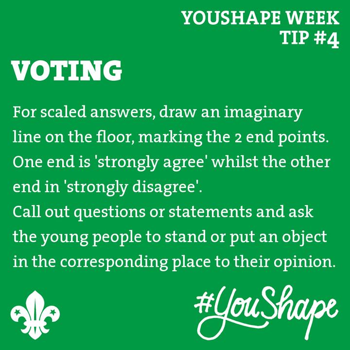 YouShape Week Tip  #4 -   -  -  #iScout  #YouShape