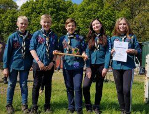 Scout Campcraft Competition 2020 @ Tablers Wood District Campsite, Carr Lane, West Cowick, Goole, DN14 9ED